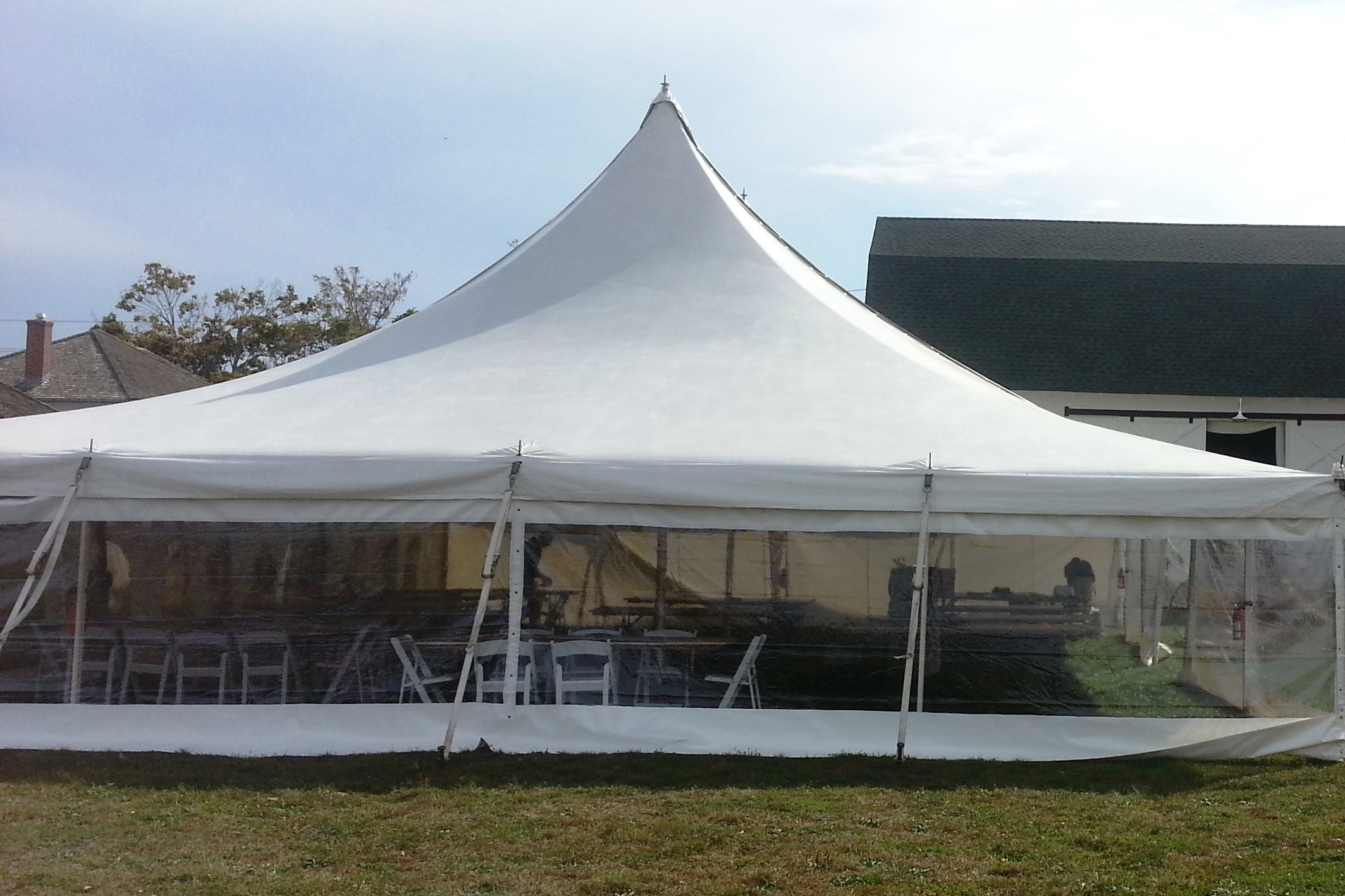 Tent Side Walls - Camelot Party Rentals